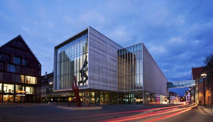 Die Kunsthalle Weishaupt bietet moderne und zeitgenössische Kunst in Ulm. © Ulm/Neu-Ulm Touristik GmbH