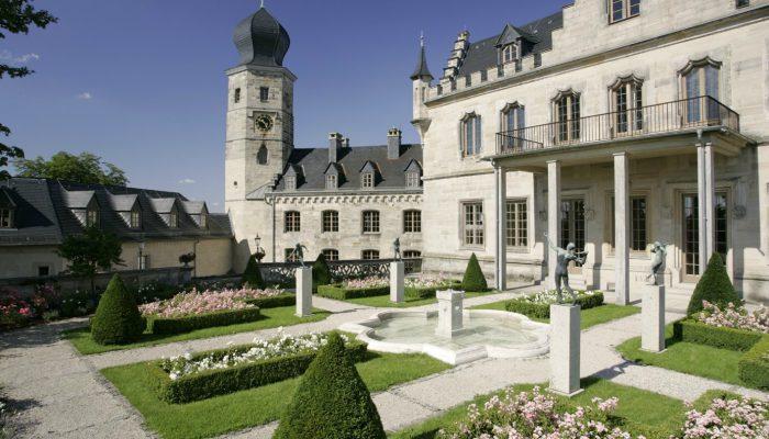 Das neugotische Schloss Callenberg ist ein bedeutendes Baudenkmal. © Coburg Tourismus